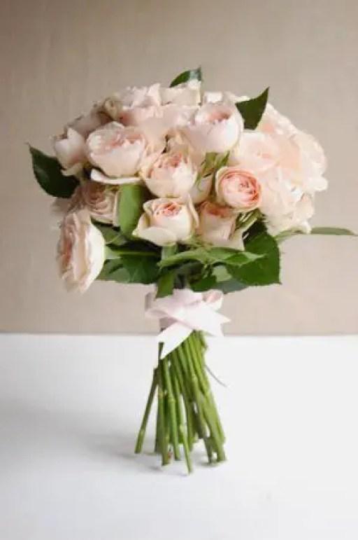 rose wedding bouquet diy 3