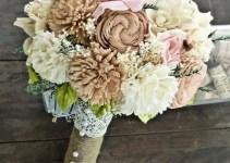 rustic sola bouquet