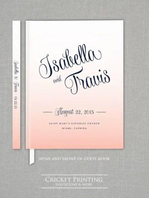 script wedding guest book
