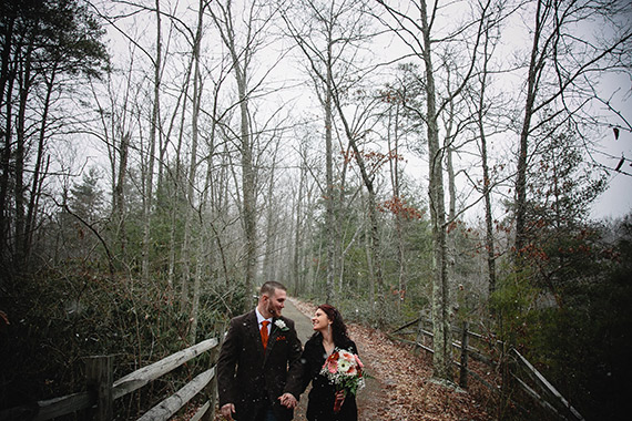 Valentine's Day Red River Gorge Wedding