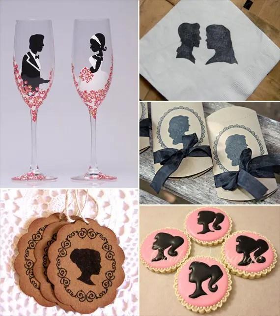 silhouette wedding ideas