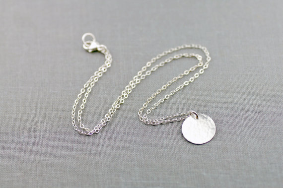 handcrafted jewelry (by lily emme jewelry) - silver necklace