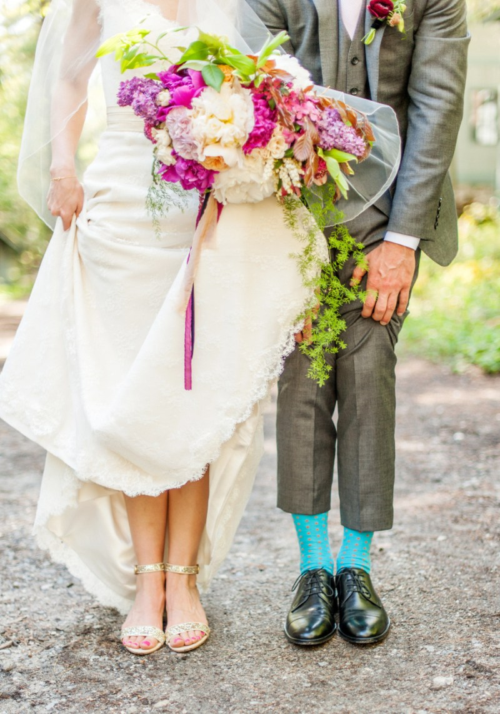 something blue groom socks