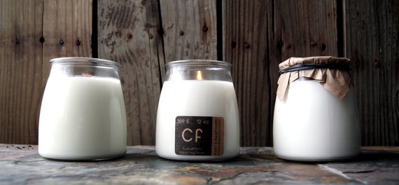 soy candle trio