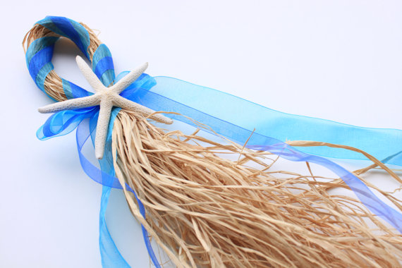 Beach Wedding Accessories: starfish ceremony decor beach wedding (by my windansea)