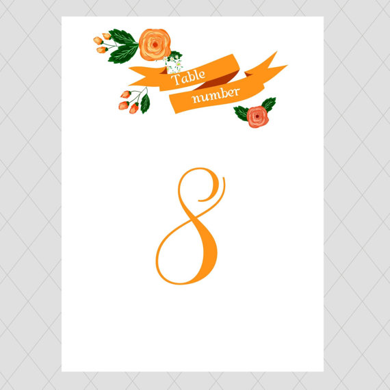 Table Numbers:  3 Easy Tips You Should Know for Weddings  
