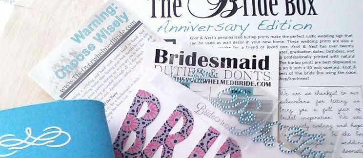 tips via Subscription Box for Brides: The Bride Box