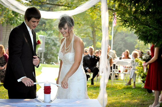 Unity Candle Ceremony (photo: liv hefner photography) - Unity Ceremony Ideas