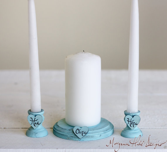 unity candle set by bragging bags | ceremony accessories weddings http://emmalinebride.com/ceremony/ceremony-accessories-weddings/