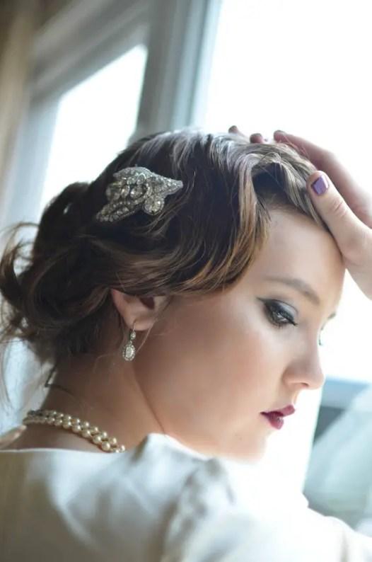 vintage bridal hair comb 2