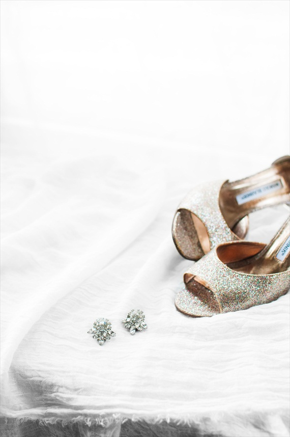 vintage shoes earrings