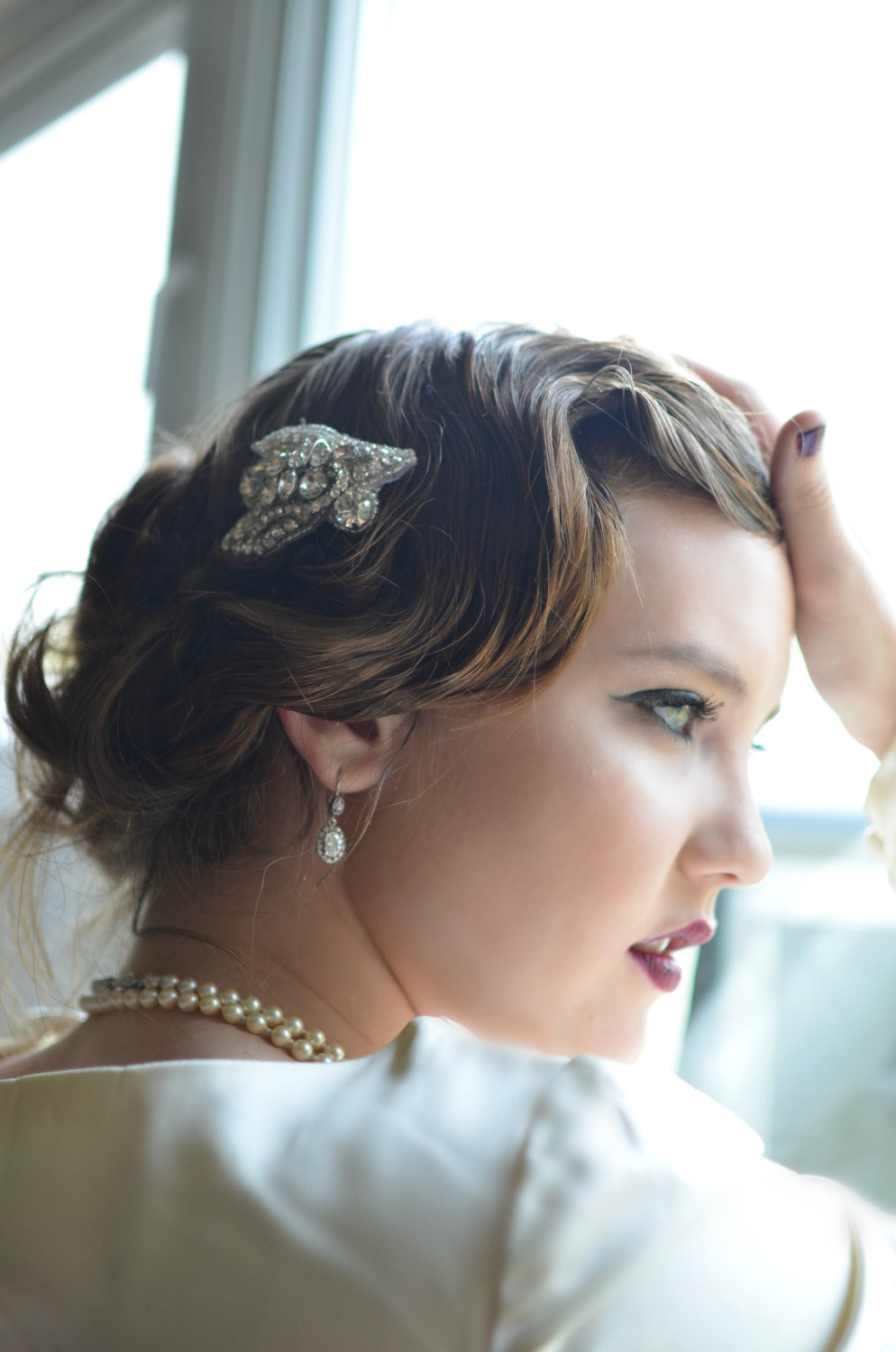 vintage wedding accessory ideas - hair comb