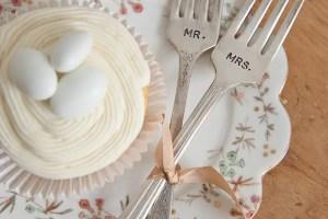 vintage_wedding_forks_handstamped_wooden_hive