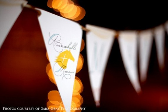 just married wedding banners