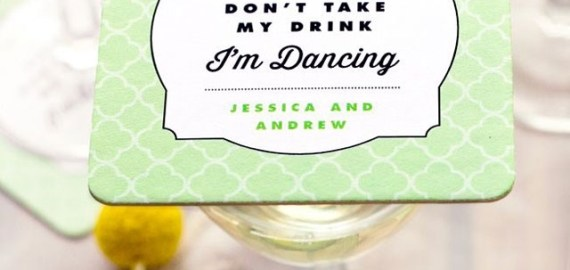 wedding coasters im dancing dont take my drink