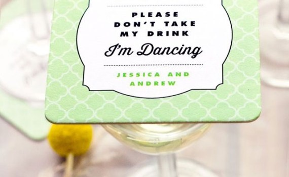 wedding coasters im dancing dont take my drink