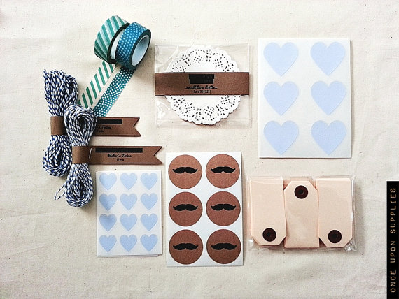 Wedding Favor Decorating Kit (by Once Upon Supplies via EmmalineBride.com)