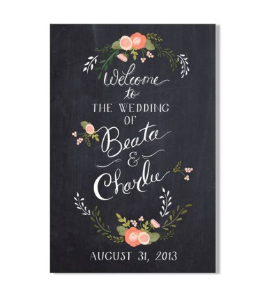 welcome sign | #wedding Wedding Poster Ideas for (Easy!) Decor