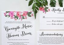 whimsical wedding invitation