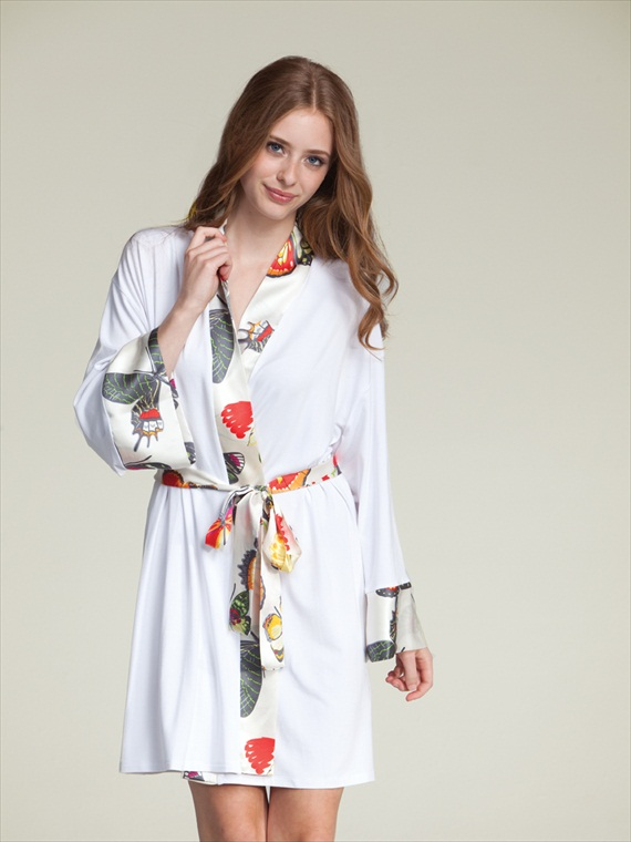 willa bridal robe