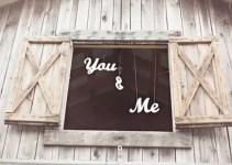you and me barn wedding