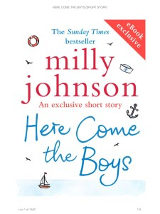 Milly Johnson - Here Come The Boys