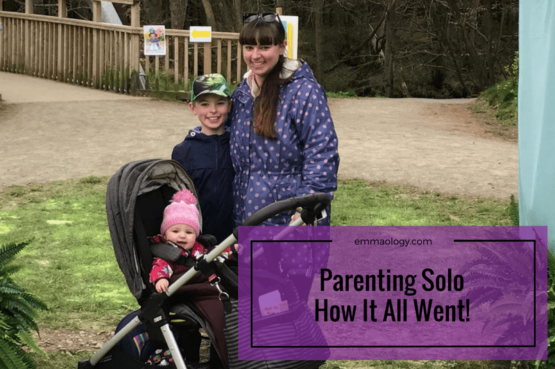 Parenting Solo – How it all went!