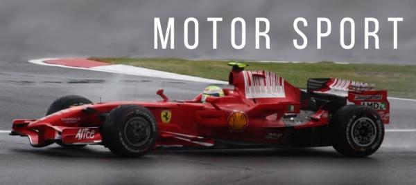RV rental for motorsport