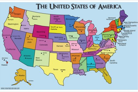 united states of america states & capitals | know it all