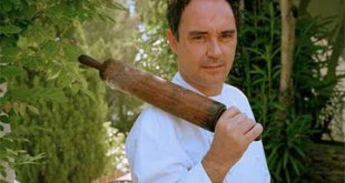 Ferran Adriá, gurú de la gastronomía