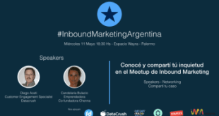 Invitacion 2do Meetup Inbound Marketing