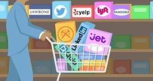 Los grandes negocios por fin dejaron de preocuparse y ya aman comprar compañías tecnológicas otra vez.