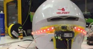 Helpmet, el casco que avisa a emergencias