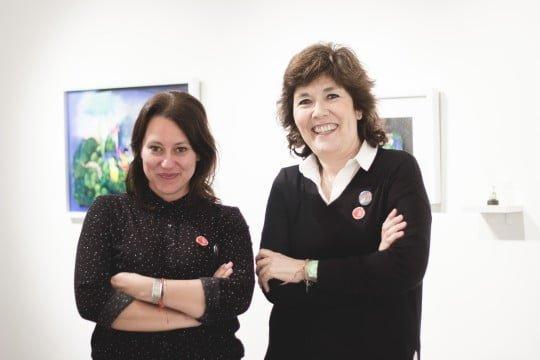 Memu Martínez y Debbie Reda, de Granada Gallery (1)