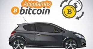 Pagar vehiculos con Bitcoins