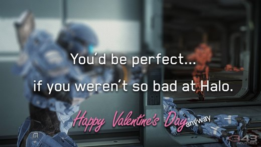 Halo Valentines Card 2