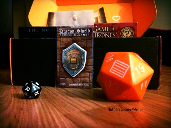 20 Sided Stress Dice and Regular Dice Dragon Shield Screen Cleaner