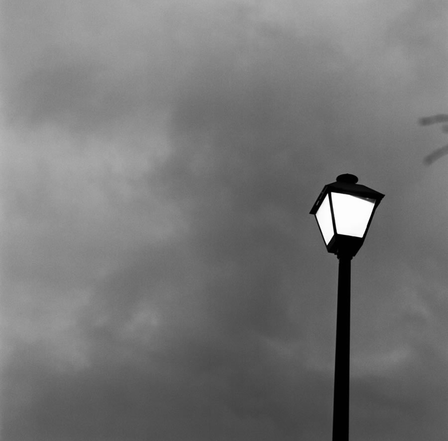 Preston Young - Lamp Post B&W