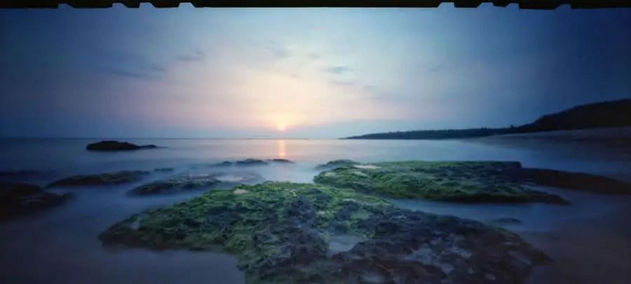 Seaglass. Zero Image 612B, Kodak Ektar