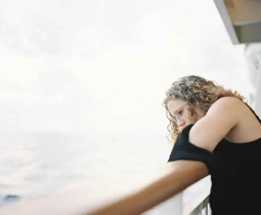 My Love - Mid-Atlantic Ocean - Plaubel Makina 670 + Kodak Portra 400