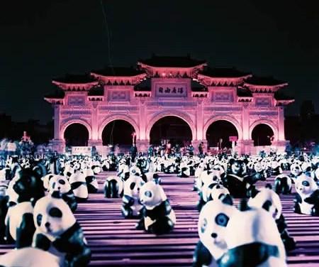 Panda party! – Lomochrome Purple XR100-400 (120)