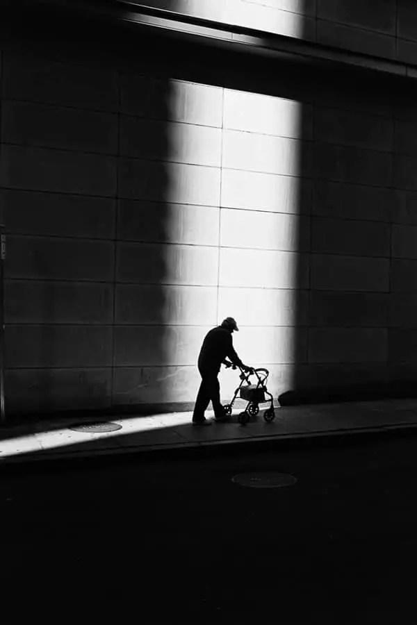 'Into the Light' - Boston, 2013 (Leica MP - Voigtlander 35 f/2.5 - Kodak Tri-X)