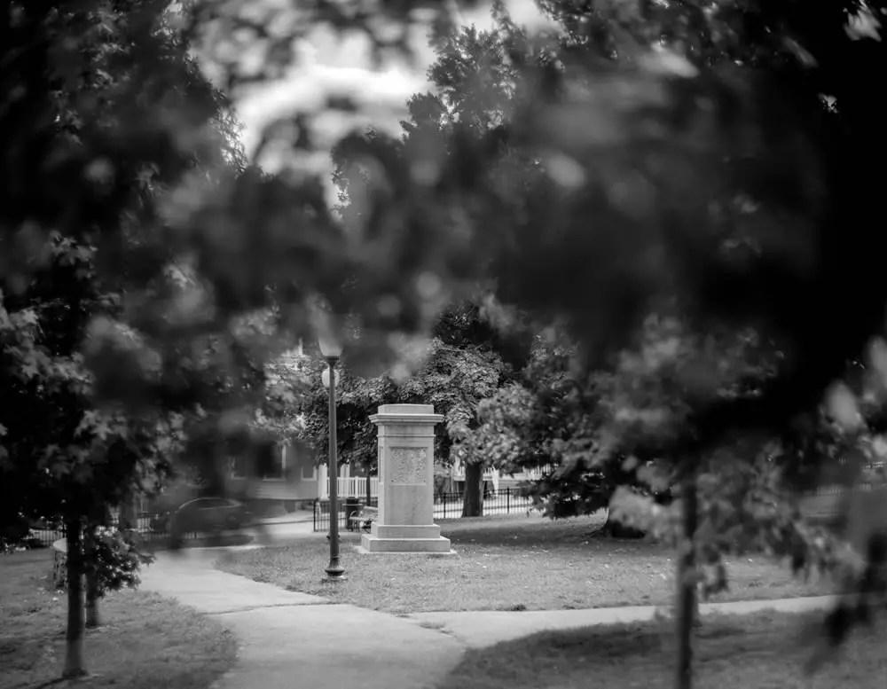 Roger Williams Landing Memorial, Slate Rock Park, Providence RI. 2014.