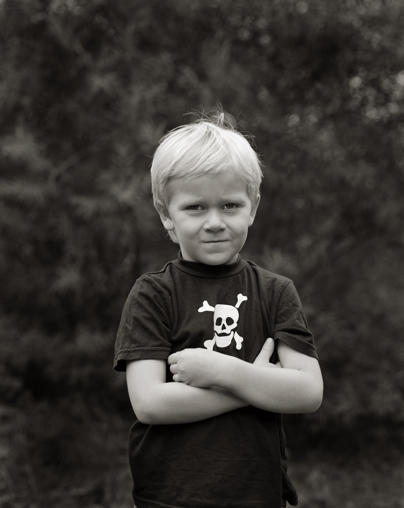 "William - Self-build 4x5"" camera - Kodak Tri-X 320"