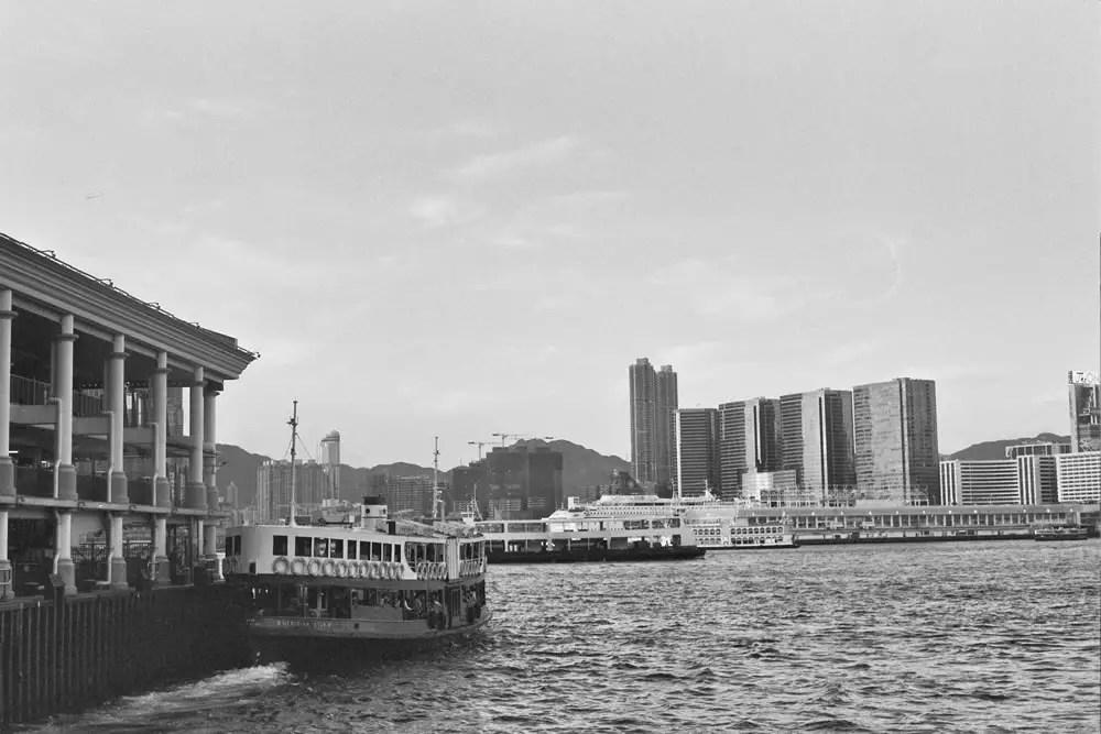 2014 Hong Kong - Olympus OM-1: 28mm f/22, Ilford HP5+