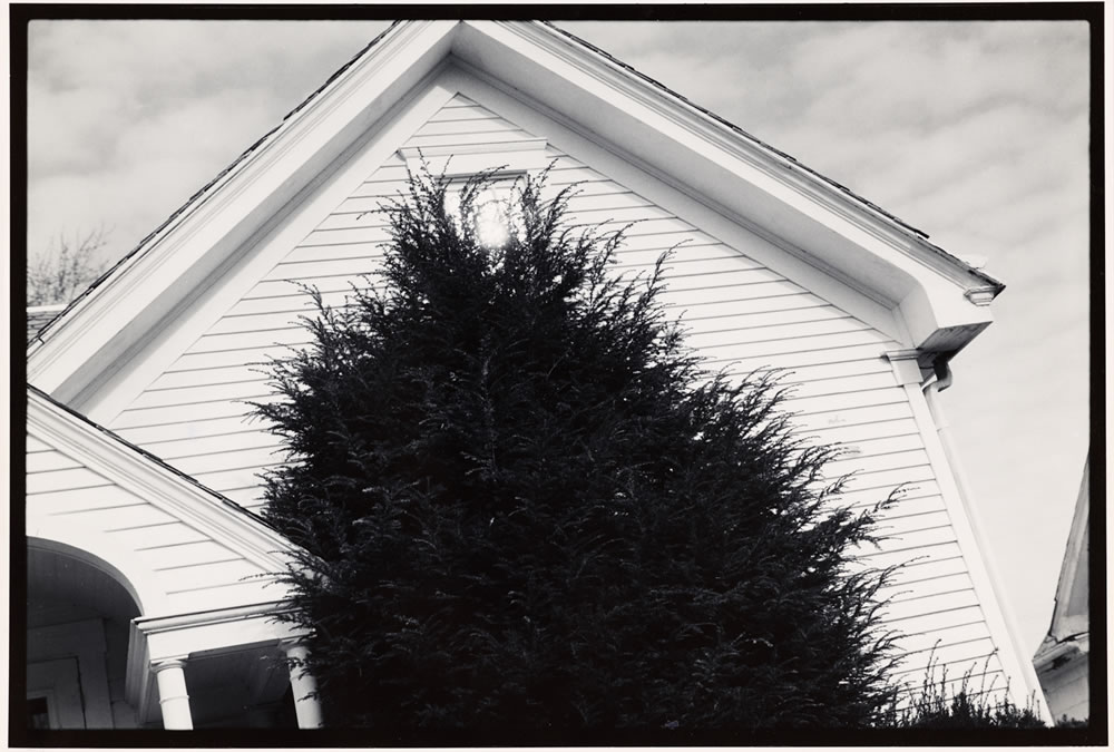 """35mm Ilford Pan F ( pre """"+"""" ) in Rodinal 1:100. Printed on 11x14 Oriental Seagull. Athens, Ohio 1989, an image from my graduate thesis work"""