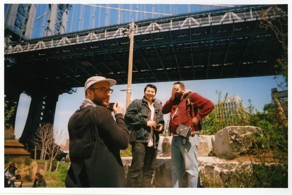 Christian, Devin, Frank celebrate Film Photography Day 2016