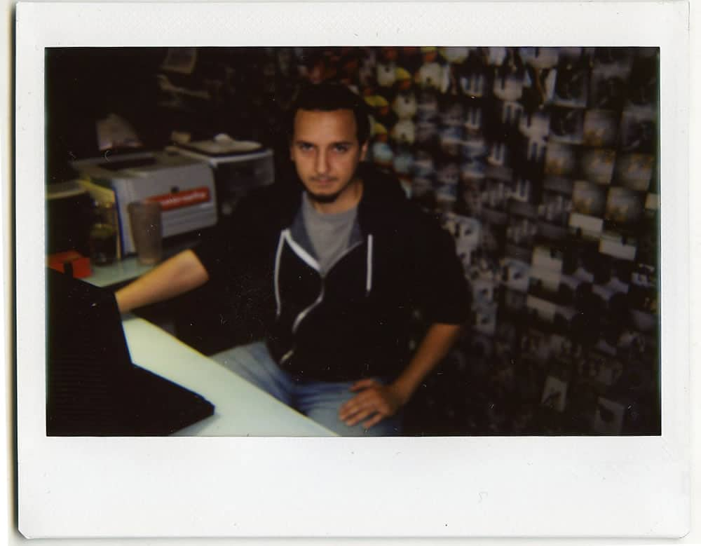 Crisneo, logistic manager. The one who is actually keeping Lomography alive.