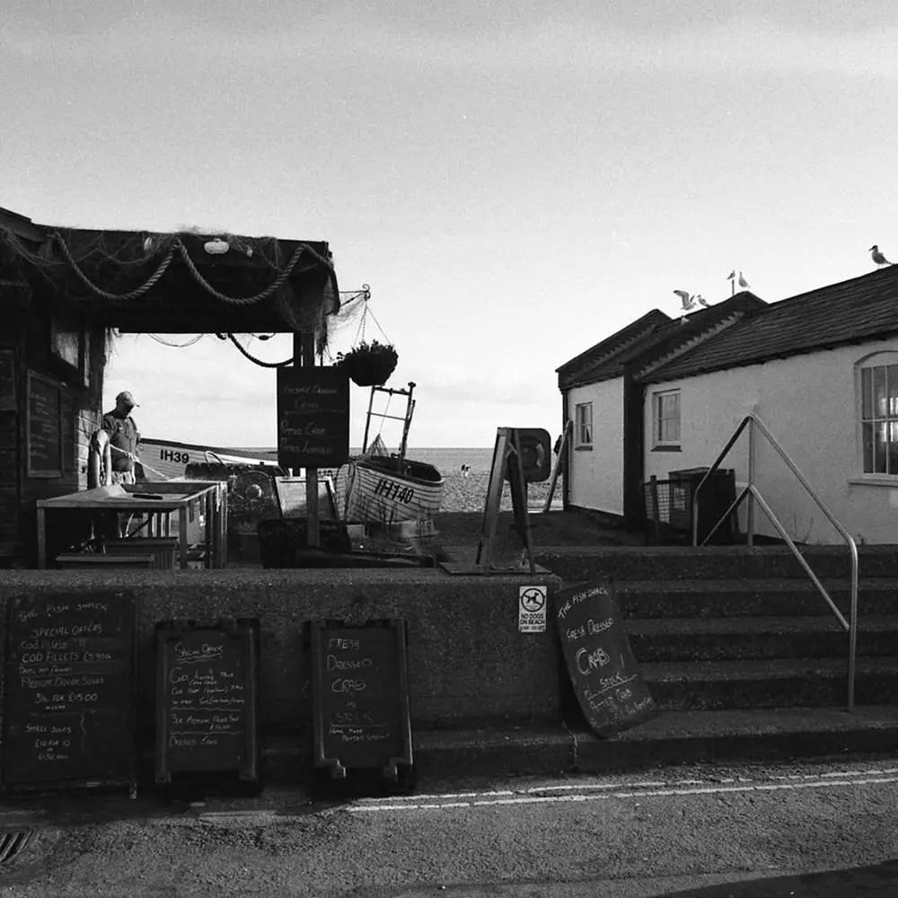 """""""Aldeburgh"""" - Canon EOS3 / Canon 24-105 EFL / Kodak 125PX / Home Developed."""