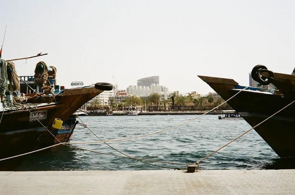 """""""Dhows & Skyline"""" Dubai, April 2014 - Kodak ColorPlus 200 / Zeiss IKON ZM / Zeiss 50mm f/1.5"""